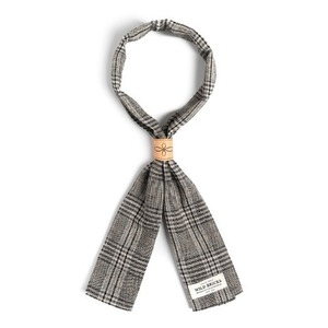 WILDBRICKS - BPG CHECK SCARF (grey)
