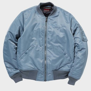 [쇼트뉴욕 항공점퍼] Schott N.Y.C. Europe - MA-1 Patriot Jacket - Sliver