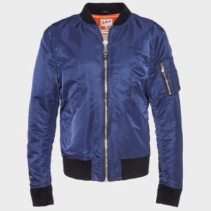[쇼트뉴욕 항공점퍼] Schott N.Y.C. Europe - MA-1 Bomber Jacket-Midnight
