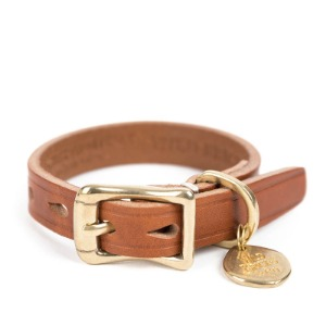 [와일드브릭스 브라이슬렛] WILDBRICKS - CB BRASS LEATHER BRACELET (brown)