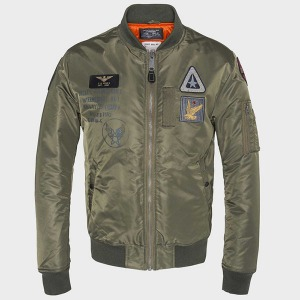[Schott NYC Perfecto] Air Force 2 MA-1 Jacket - Army Khaki