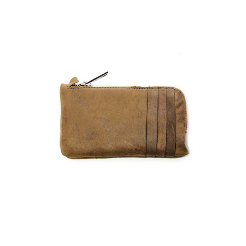 [쿄레프로젝트 카드지갑] KJøRE PROJECT - PHONE/CARDS CLUTCH WALLET BUFFALO BEIGE