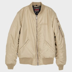 [쇼트뉴욕 항공점퍼] Schott N.Y.C. Europe - MA-1 Patriot Jacket - Beige