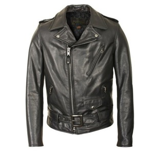 [쇼트뉴욕 가죽자켓] SCHOTT N.Y.C - 519 LEATHER JACKET / BLACK