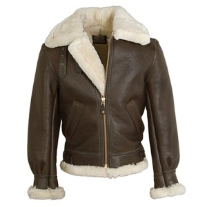 [쇼트뉴욕 무스탕] SCHOTT N.Y.C - 257S Mustang Jacket - BROWN