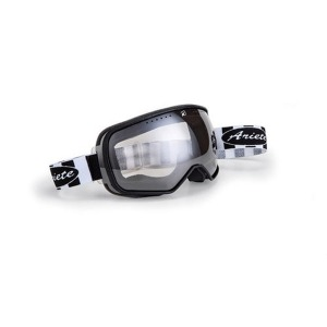 [아리에테 고글] Ariete Feather Goggles Black / White