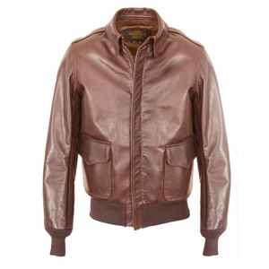 [쇼트뉴욕 가죽자켓] SCHOTT N.Y.C - 574 A-2 LEATHER JACKET / BROWN