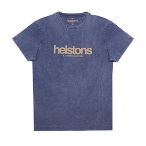 [헬스톤 티셔츠] HELSTONS - T-SHIRT  CORPORATE BLUE