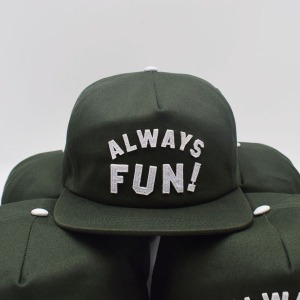 [인다이스 스냅백] INDICE - ALWAYS FUN CAP / KHAKI