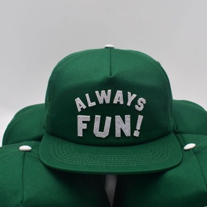 [인다이스 스냅백] INDICE - ALWAYS FUN CAP / GREEN