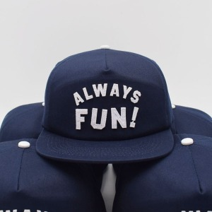 [인다이스 스냅백] INDICE - ALWAYS FUN CAP / NAVY