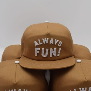 [인다이스 스냅백] INDICE - ALWAYS FUN CAP / BEIGE