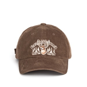 [와일드브릭스 코듀로이 캡] WILDBRICKS - CORDUROY REINDEER CAP (brown)