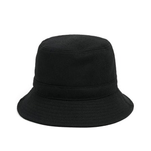[와일드브릭스 버킷햇] WILDBRICKS - MELTON WOOL BUCKET HAT (black)