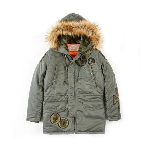 [엑스톤즈 N3B 항공점퍼] XTONZ - XJ8 PATCH N-3B JACKET - (SAGE)
