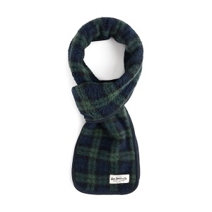 [와일드브릭스 스톨] WILDBRICKS - TARTAN CHECK FLEECE STOLE (green)
