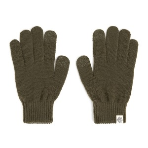 [와일드브릭스 터치 글러브] WILDBRICKS - AW BASIC TOUCH GLOVES (khaki)
