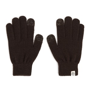 [와일드브릭스 터치 글러브] WILDBRICKS - AW BASIC TOUCH GLOVES (brown)