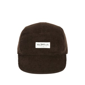 [와일드브릭스 캠프 캡] WILDBRICKS - PL CORDUROY CAMP CAP (brown)