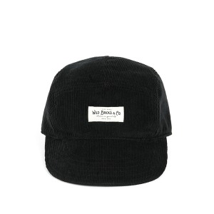 [와일드브릭스 캠프 캡] WILDBRICKS - PL CORDUROY CAMP CAP (black)