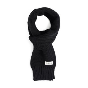 [와일드브릭스 스톨] WILDBRICKS - MILITARY KNIT MUFFLER (black)