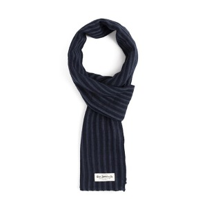 [와일드브릭스 스톨] WILDBRICKS - GRG STRIPE STOLE (navy)
