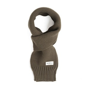 [와일드브릭스 스톨] WILDBRICKS - MILITARY KNIT MUFFLER (khaki)