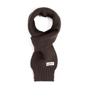 [와일드브릭스 스톨] WILDBRICKS - MILITARY KNIT MUFFLER (brown)
