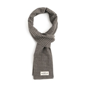 [와일드브릭스 스톨] WILDBRICKS - WD FINE CHECK STOLE (light grey)