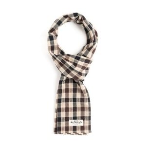 [와일드브릭스 스톨] WILDBRICKS - BB GINGHAM CHECK STOLE (beige)