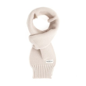 [와일드브릭스 스톨] WILDBRICKS - MILITARY KNIT MUFFLER (ivory)