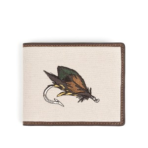 [와일드브릭스 지갑] WILDBRICKS - FLY FISHING WALLET (dark brown)