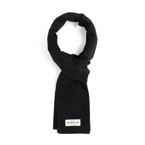 [와일드브릭스 스톨] WILDBRICKS - FINE HERRINGBONE STOLE (black)