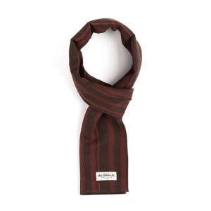 [와일드브릭스 스톨] WILDBRICKS - STC STRIPE STOLE (brown)