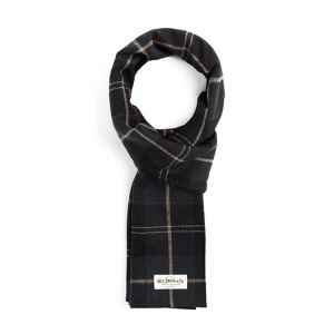 [와일드브릭스 스톨] WILDBRICKS - STC CHECK STOLE (black)