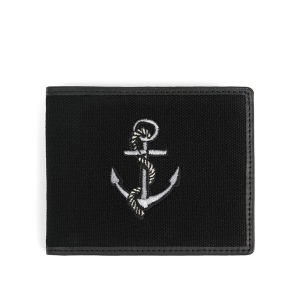 [와일드브릭스 지갑] WILDBRICKS - ANCHOR WALLET (black)