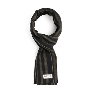[와일드브릭스 스톨] WILDBRICKS - STC STRIPE STOLE (black)