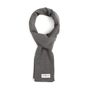 [와일드브릭스 스톨] WILDBRICKS - GH FINE CHECK STOLE (grey)