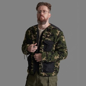 [스미스아머] SMITH ARMOR - SA BOA CAMOUFLAGE REVERSIBLE JACKET / KAKHI