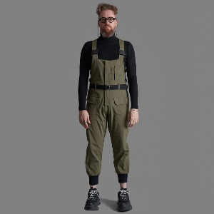[스미스아머] SMITH ARMOR - SA SLIM FIT JOGGER SKI OVERALL / KAKHI