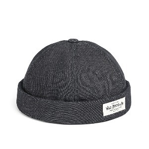 [와일드브릭스 브림리스캡] WILDBRICKS - SELVEDGE DENIM BRIMLESS CAP (denim)