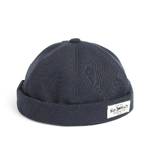 [와일드브릭스 브림리스캡] WILDBRICKS - BI OXFORD BRIMLESS CAP (navy)