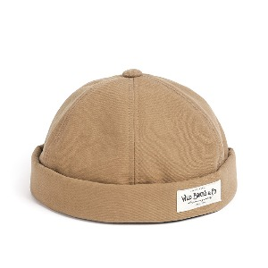 [와일드브릭스 브림리스캡] WILDBRICKS - BI OXFORD BRIMLESS CAP (beige)