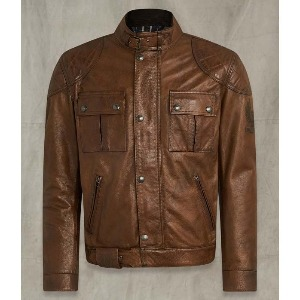 [벨스타프 브루크랜드 가죽자켓] BELSTAFF -BROOKLANDS LEATHER JACKET /  Burnt Cuero