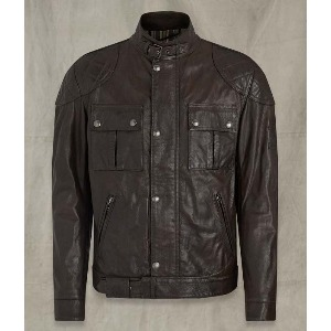[벨스타프 브루크랜드 가죽자켓] BELSTAFF -BROOKLANDS LEATHER JACKET /  Black Brown