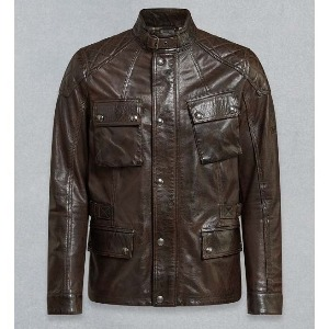 [벨스타프 터너 가죽 자켓] BELSTAFF - TURNER LEATHER JACKET / Black Brown