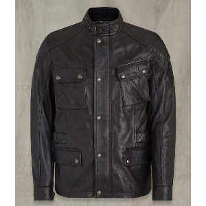 [벨스타프 터너 가죽 자켓] BELSTAFF - TURNER LEATHER JACKET / Antique Black