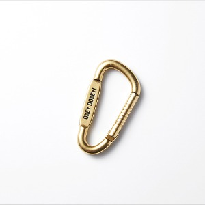 [인다이스 카라비너] INDICE - 	BRASS Carabiner Holder
