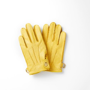 [인다이스 클래식 글러브] INDICE - Leather Classic Gloves(DEER/YELLOW)