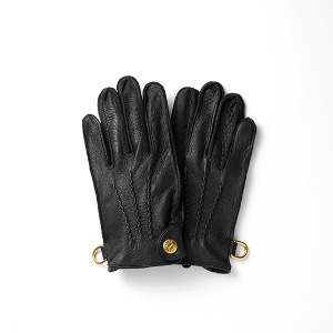 [인다이스 클래식 글러브] INDICE - Leather Classic Gloves(DEER/BLACK)